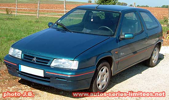 Les Citroën séries spéciales.