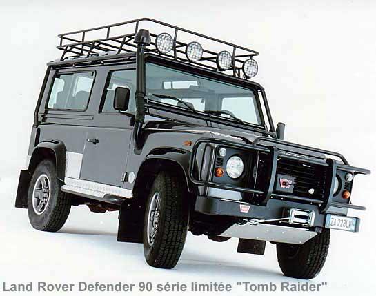 Les land rover s ries sp ciales for Arceau exterieur 4x4