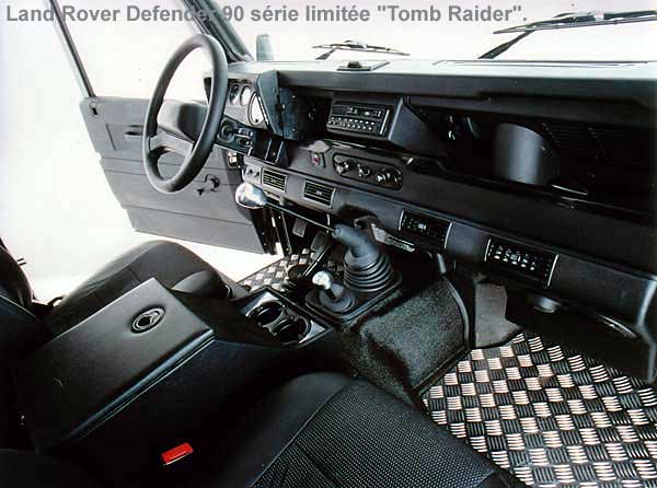 Les land rover s ries sp ciales for Interieur defender 90