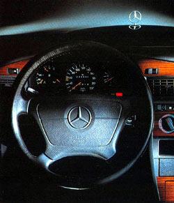 """(W201): Modelo especial 190 """"Contact"""" 1990  Mercedes_190_Contact_tdb"""