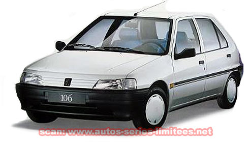 Les peugeot s ries sp ciales for Retroviseur 106 kid