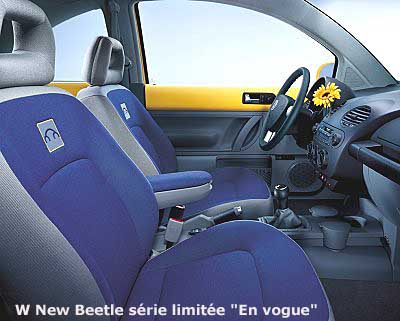 Les vw s ries sp ciales for Interieur new beetle