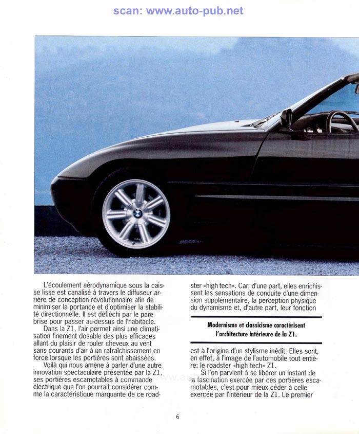 Bmw Zed 1: Les Publicités Automobiles