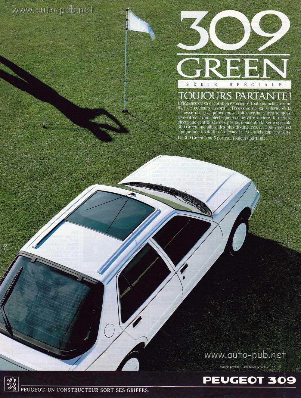 Peugeot-309-SL-Green-2