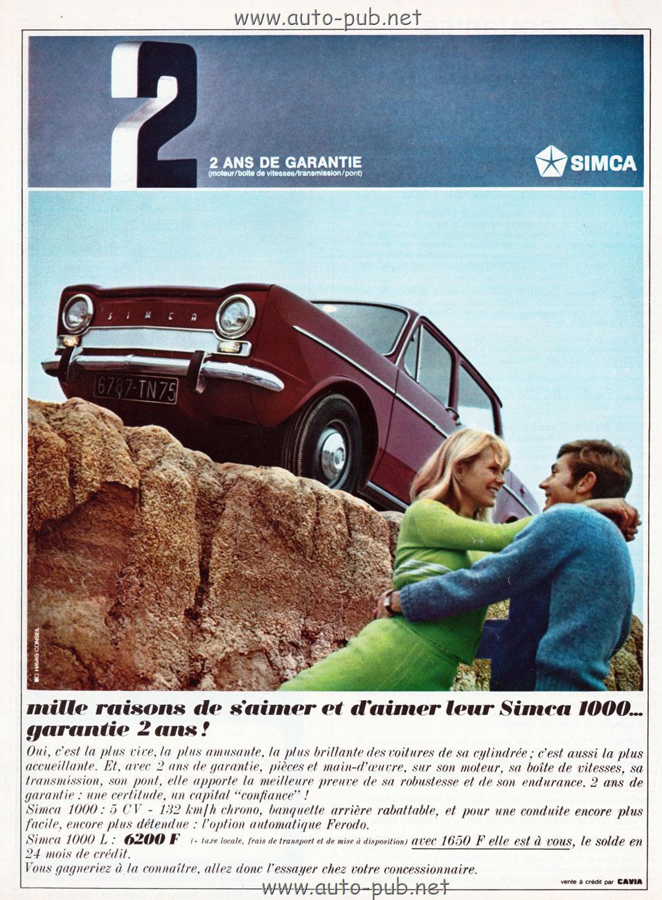 Simca-1000-raison-aimer